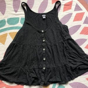 Aerie Charcoal Gray Tank Top
